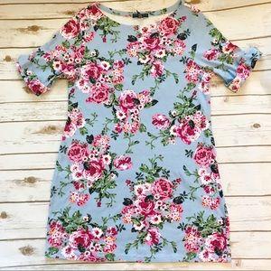 Karen Scott Sport | Floral Mini Dress | Size 1x